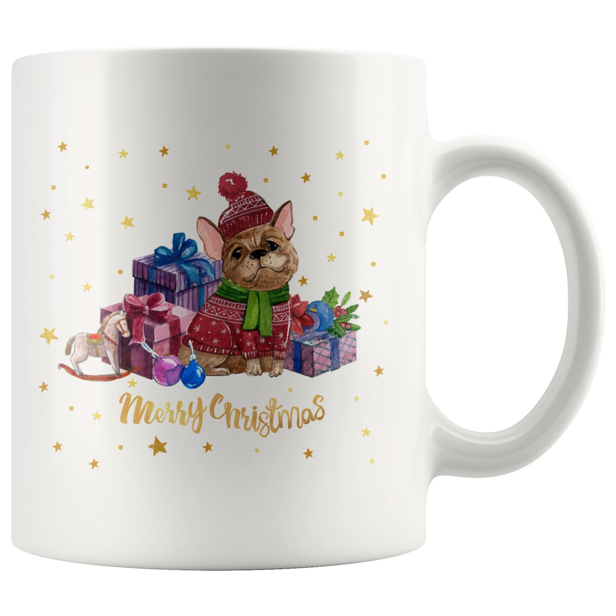 Funny Christmas Coffee Mug Merry Christmas French