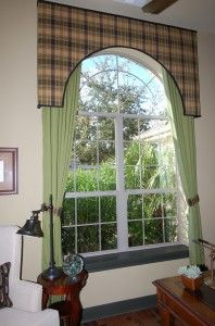 Arch Window Treatment Ideas Arched Window Treatment