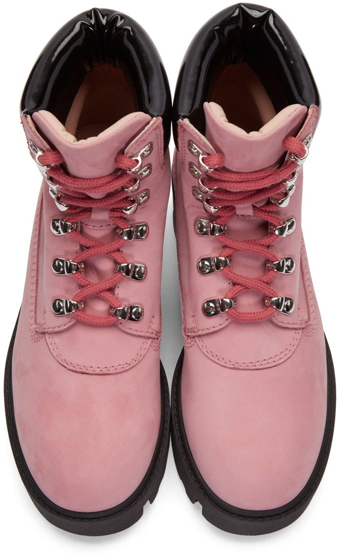 515521d7bb7 Acne Studios - Pink Telde Hiking Boots | Outdoor Life in 2019 ...