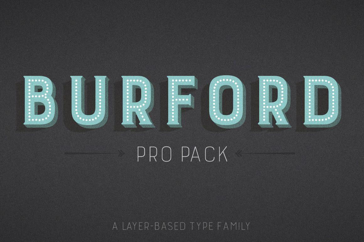 Download Burford Pro Pack | Burford, Lettering, Font packs