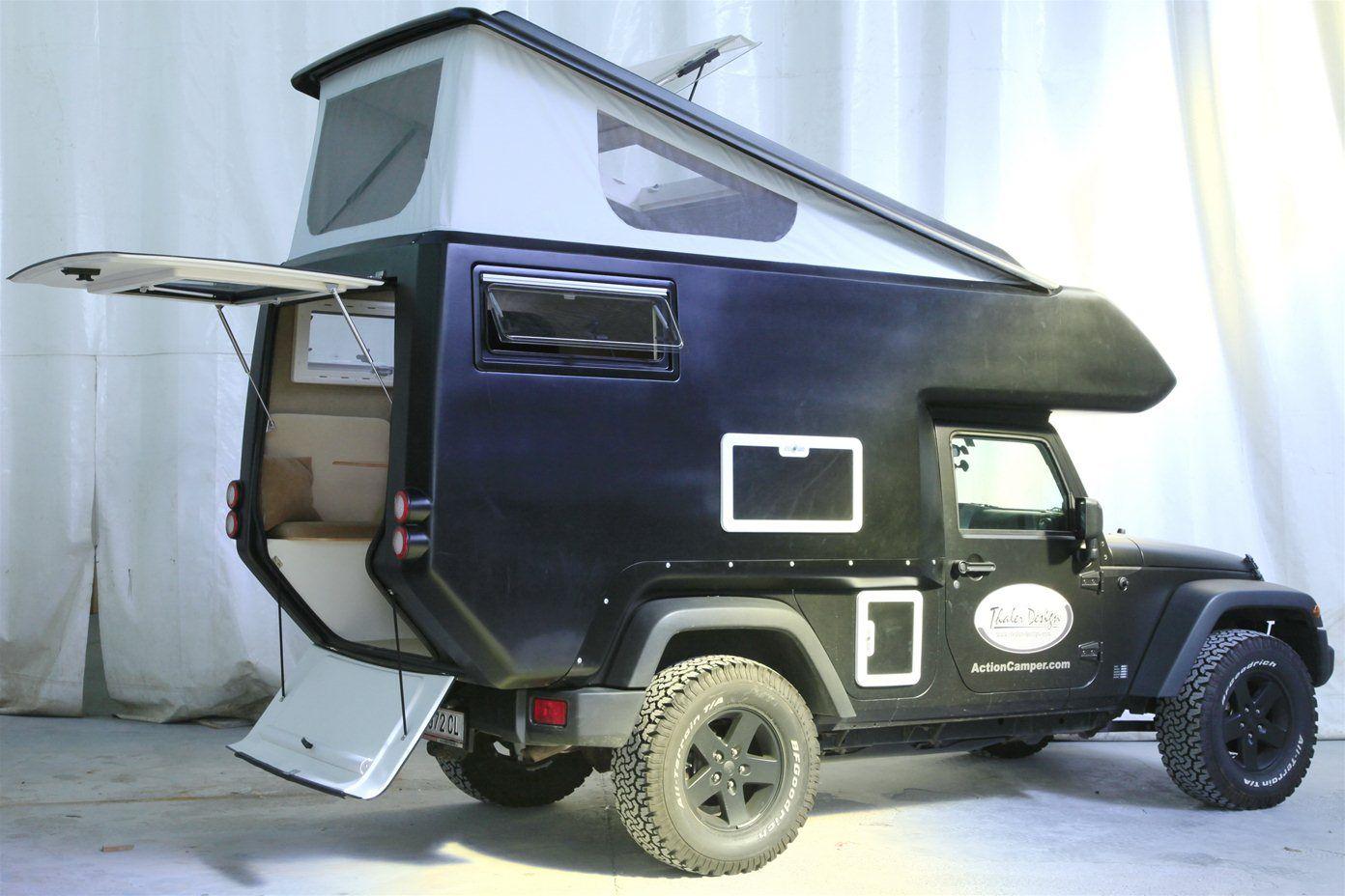 manufacturer 39 s page for jeep actioncamper expedition ready slide on camper jk wrangler. Black Bedroom Furniture Sets. Home Design Ideas