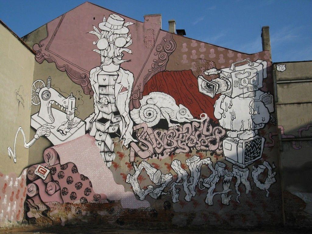 Murale urloplandia noclegi atrakcje restauracje wczasy nad