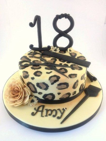 Image Result For Hairdresser 18th Birthday Cake Ideas
