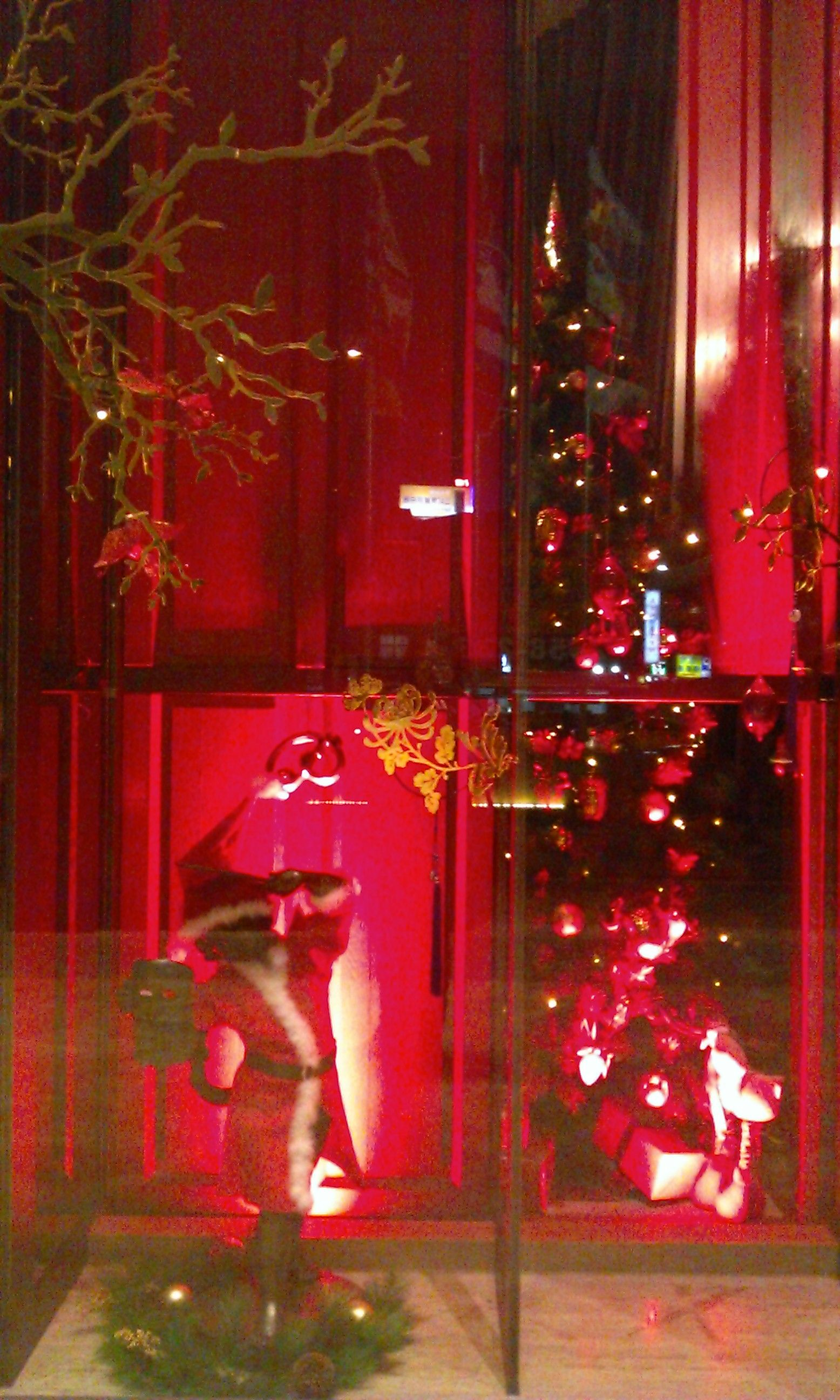 君品酒店 Palais de Chine Hotel Holiday decor, Christmas tree