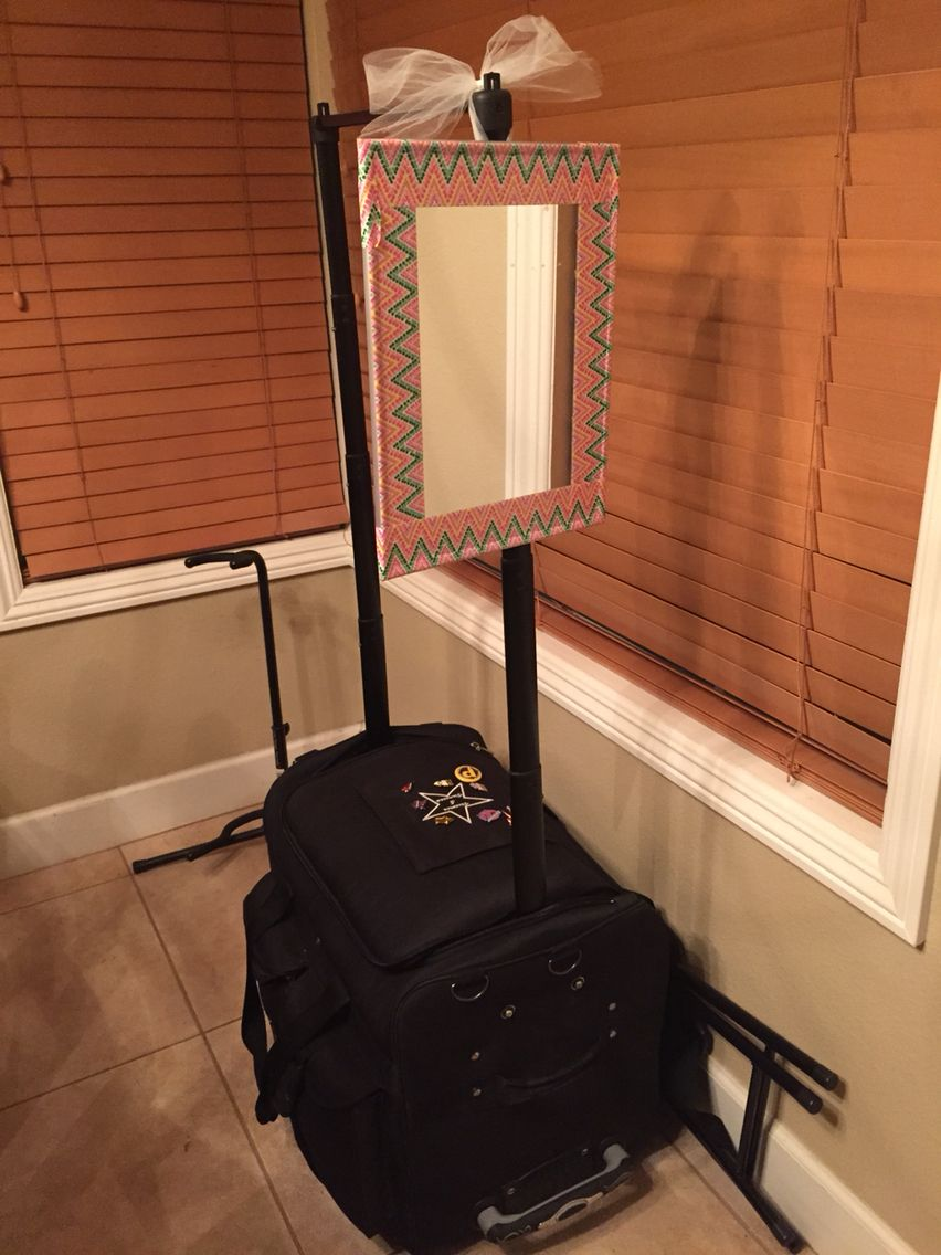 I Made A Hanging Mirror For My Dream Duffle 3 The Duct Tape