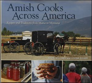 Recipe for Amish Blueberry-lemon buttermilk muffins