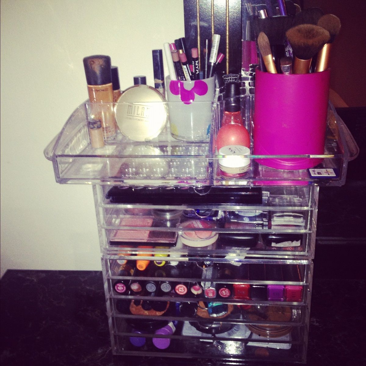 Make up Storage Ideen und Organisation Make up