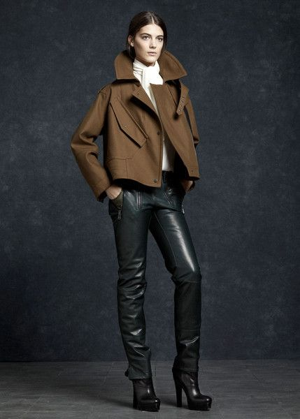 (That jacket is everything!) Belstaff Fall 2012