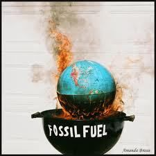 The burning of fossil fuels is adding to the process of Global Warming.