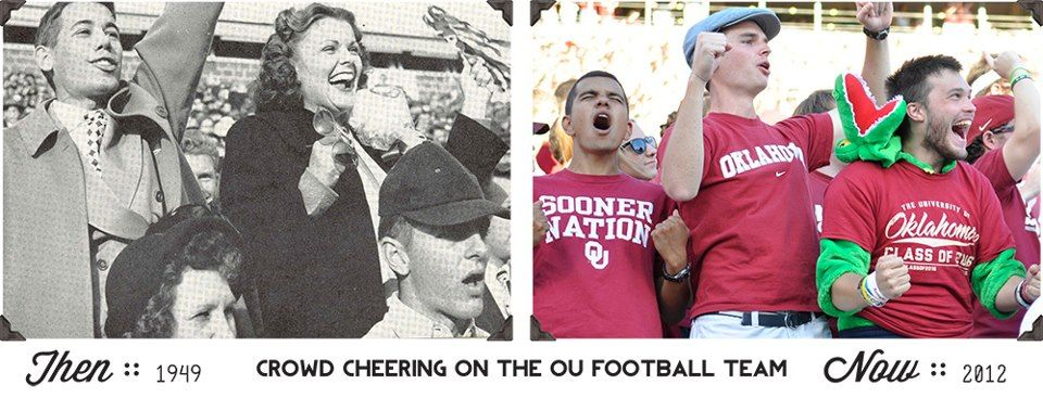 Yesterday or Today, it's always Boomer Sooner! Ou