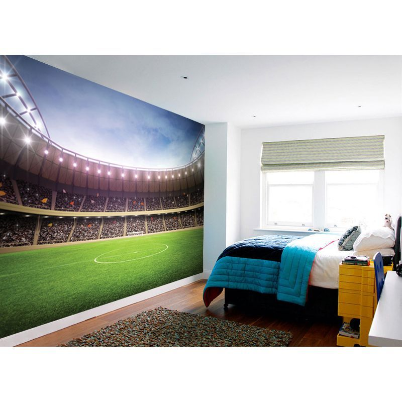 Football Stadium Wall Mural Low Cost Furniture Ireland Amp Diy Materials  Wallpaper Accessories Murals. Boys Bedroom SetsBedroom ...