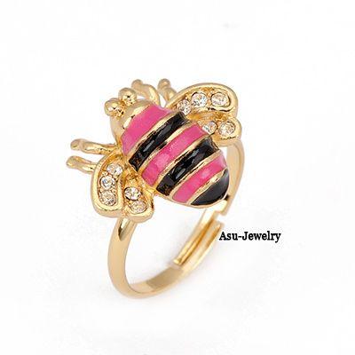 Healing Black Round Design Alloy Fashion Rings