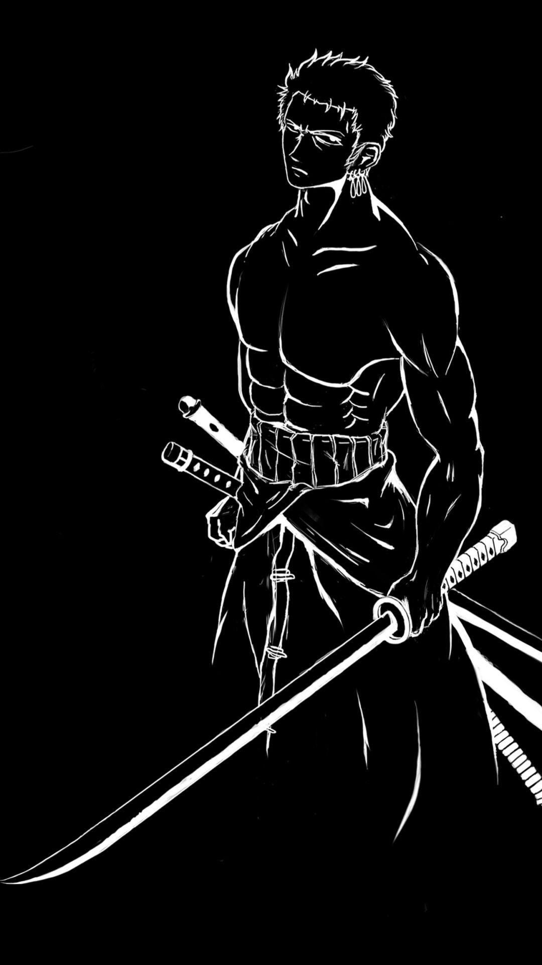Pin Di Black Samurai Anime