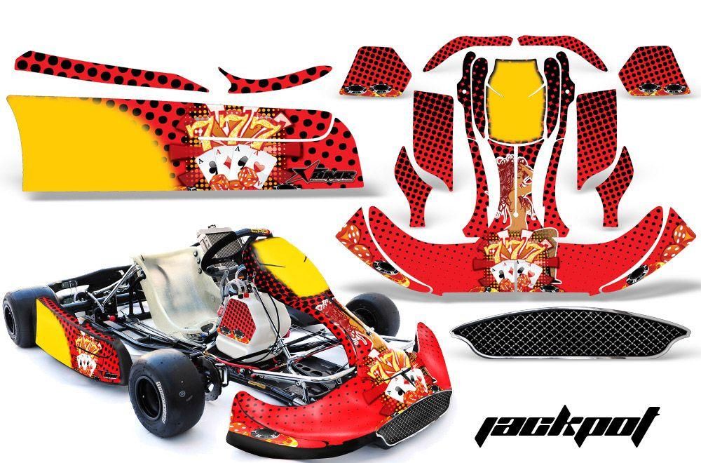 Karting go kart sport automobile mototrsports track autocollant decal decals sport