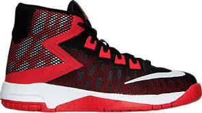 757ae78ea02e Nike Kids Air Devosion (Little Kid) Boys Shoes Black University Red White    13.5 Little Kid M