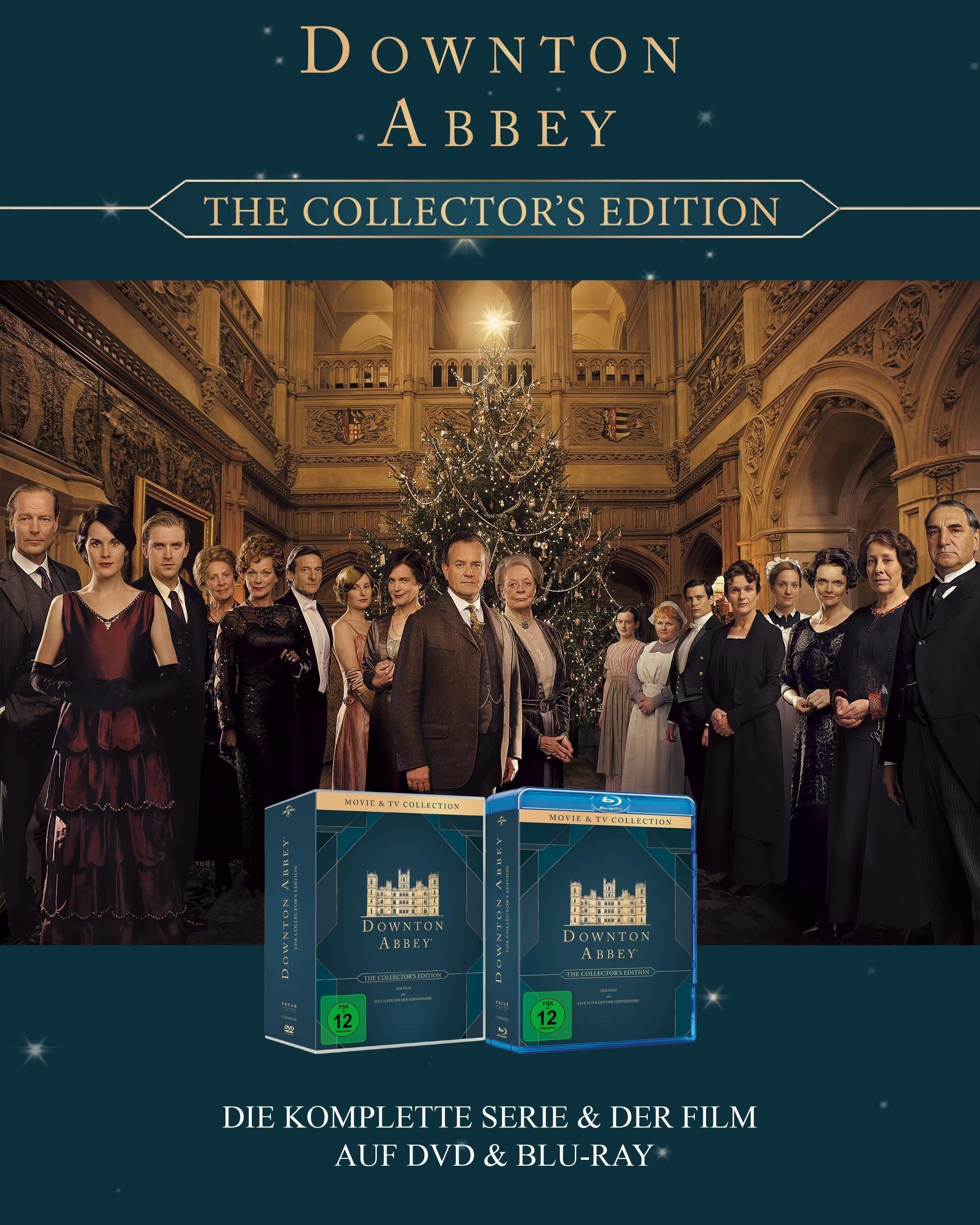 Downton Abbey Komplettbox Video Film Trailer Filme Dvd