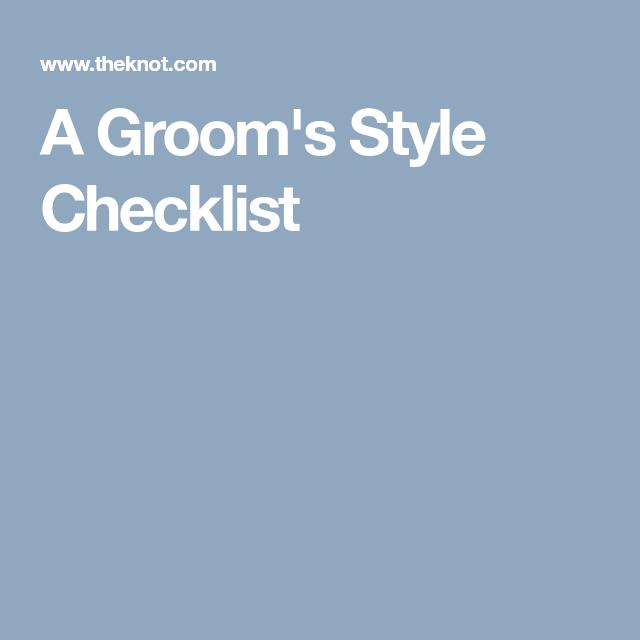 Groom Style, Groom, Wedding Men