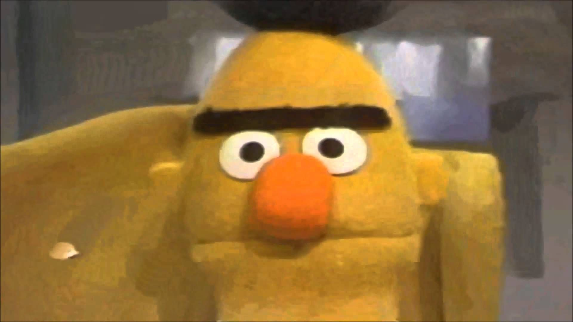 Pin By On Funny Bert Sesame Street Angry Bert Funny