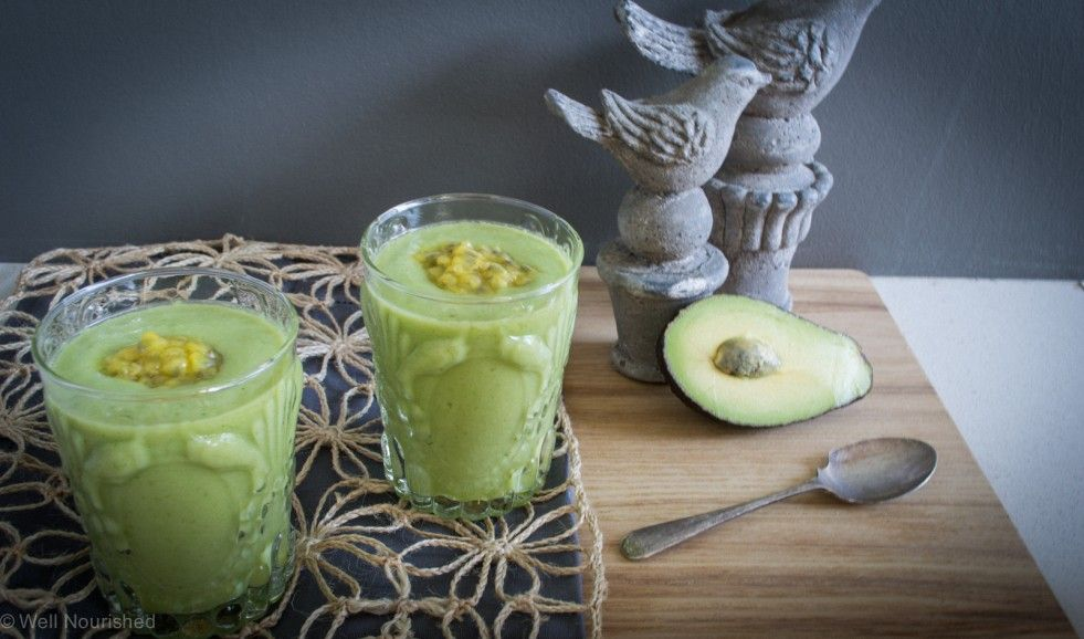 Tropical Smoothie this 'green' smoothie is dairy free