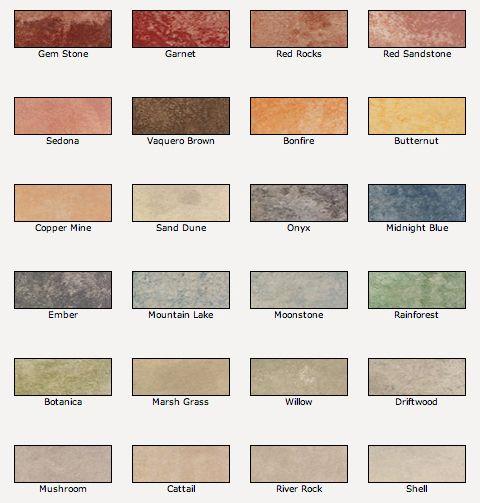 Valspar Semi Transparent Concrete Stain Colors For A Natural Stone