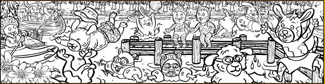 Large Murals And Coloring Sheets For Kids To Paint Or Color These Are Really Cool Coloring Sheets For Kids Large Mural Mural