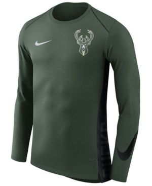 381d6d8d763e3 NIKE MEN'S MILWAUKEE BUCKS HYPERLITE SHOOTER LONG SLEEVE T-SHIRT. #nike  #cloth #