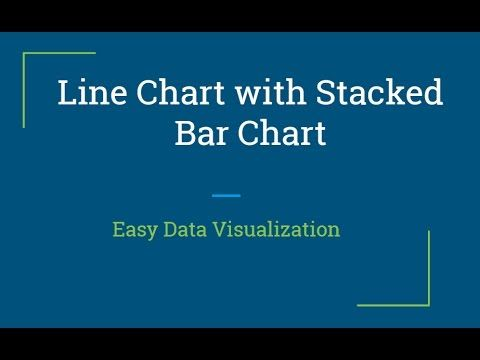 QlikView Tutorial | Adding Line Chart to Stack Bar Chart