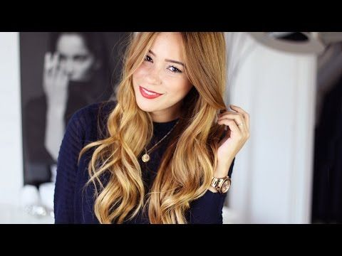 tutorial f r gro e locken mit lockenstab hairbst youtube hair cut color styling. Black Bedroom Furniture Sets. Home Design Ideas