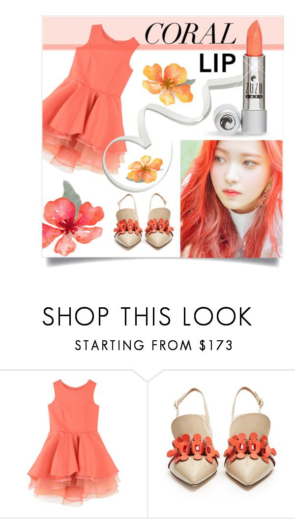 """""""spring lips"""" by collagette ❤ liked on Polyvore featuring beauty, LILI GAUFRETTE, Anya Hindmarch, ZuZu Luxe and springlips"""