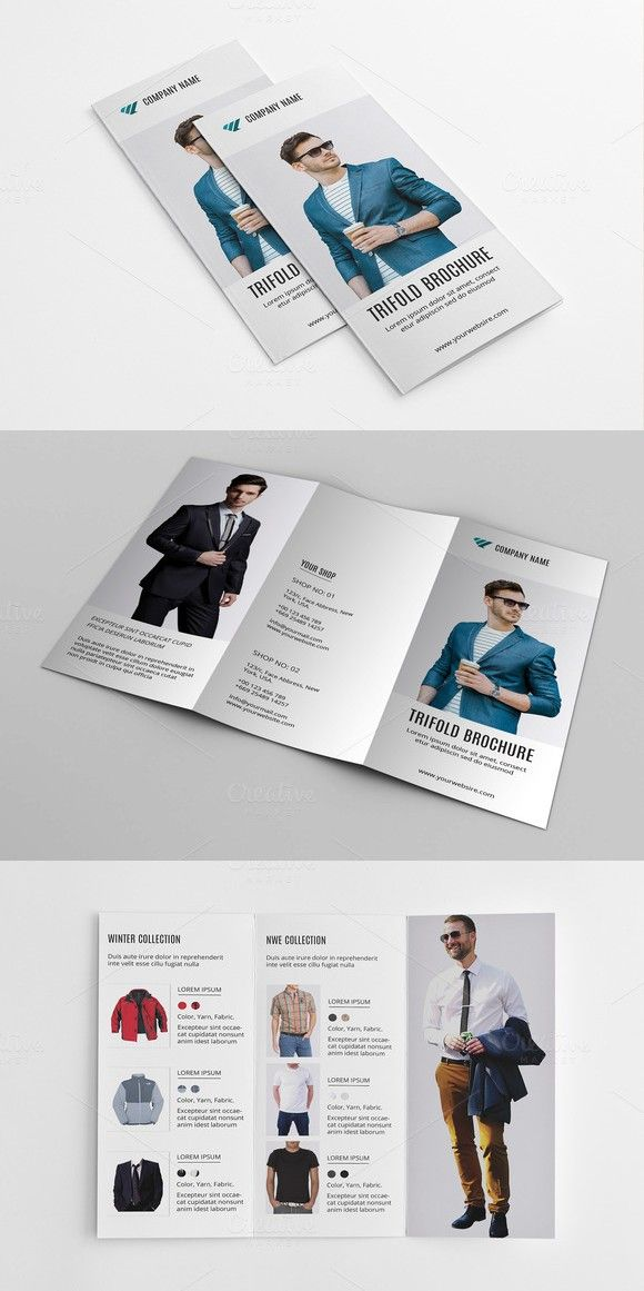 Fashion Product BrochureV  Brochure Template Product