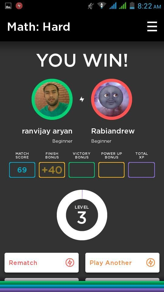 QuizUp Android Game App Review, How to Play and Win