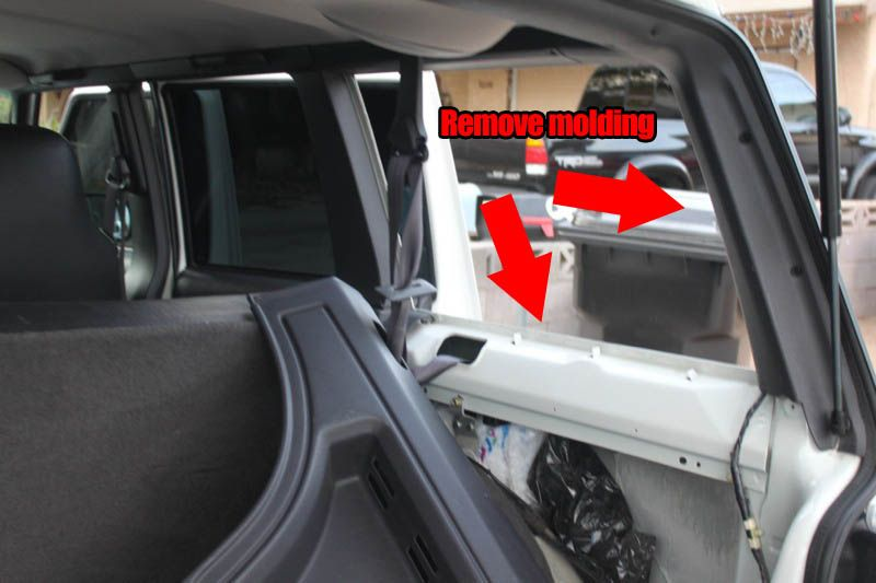 How To Install Rear Cargo Window On A Jeep Cherokee Xj And Zj Jeep