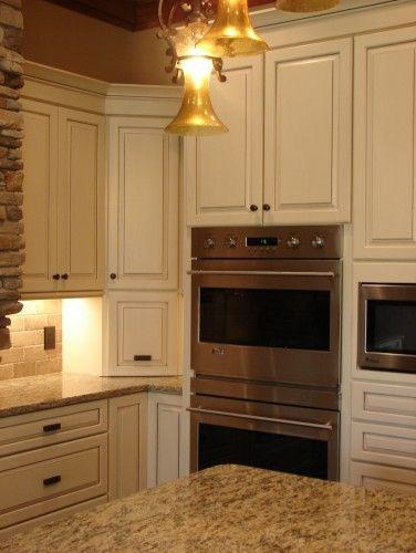 Kraftmaid Cabinets Biscotti With Cocoa Glaze Finish For