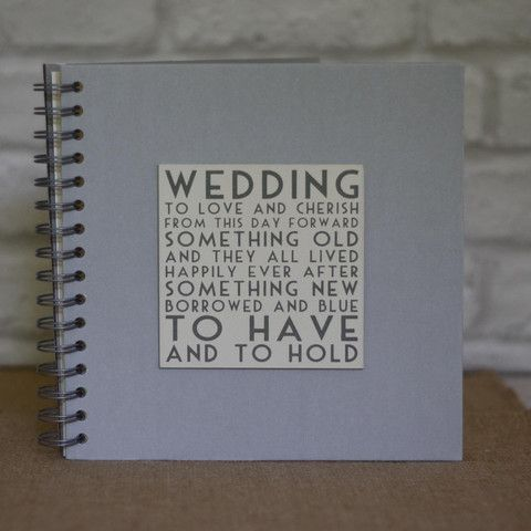 The Wedding of My Dreams - Wedding Guest Book or Planner To Have And To Hold #wedding #theweddingofmydreams
