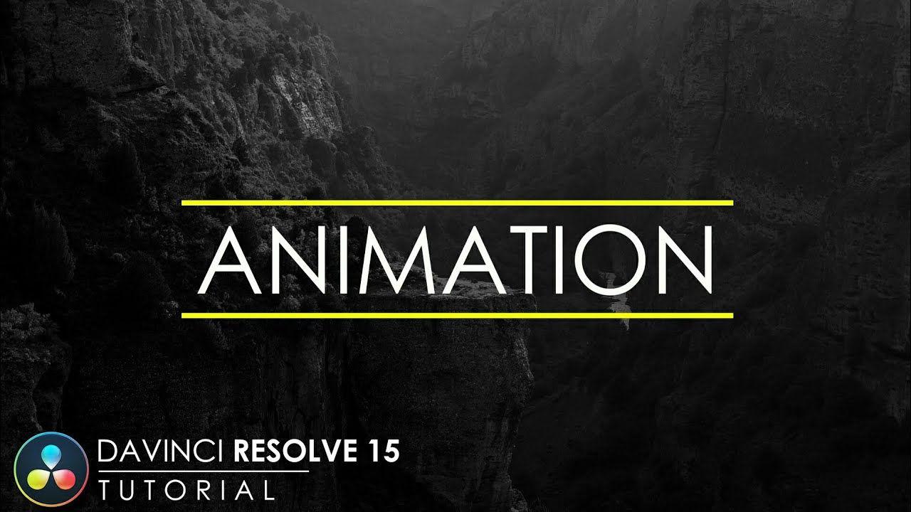 Simple Text Animation in DaVinci Resolve 15 | DaVinci