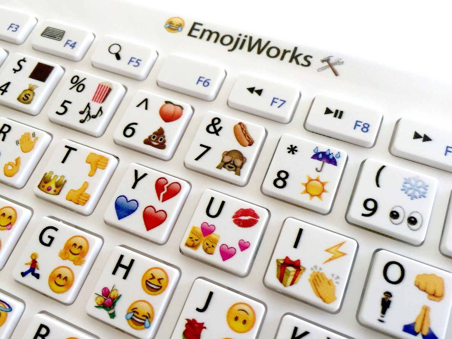 Emojiworks Emoji Keyboard Pro Bluetooth Wireless Keyboard For Mac Ipad Windows Ideias Legais Teclado Ideias