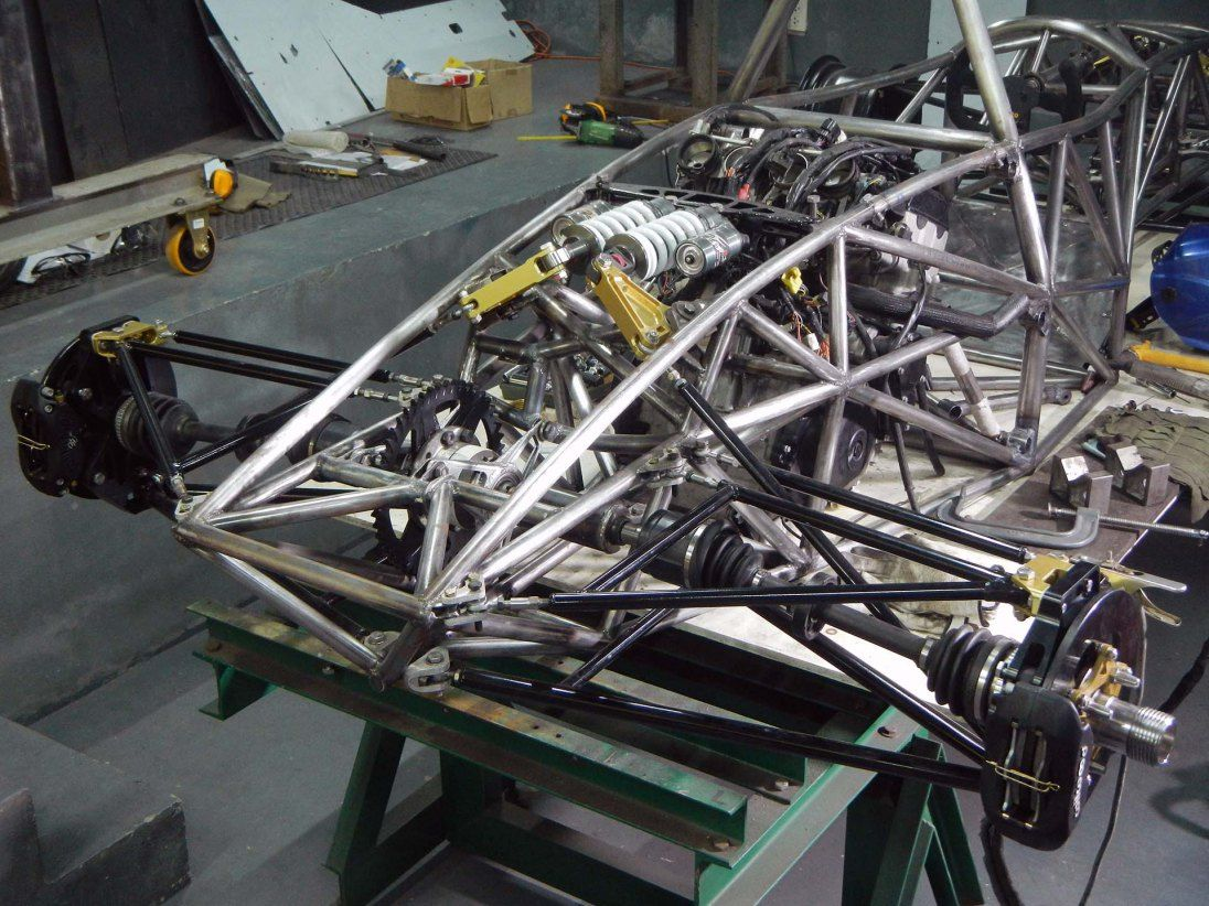 Rear Suspension | Car frames, Custom cars, Car projects