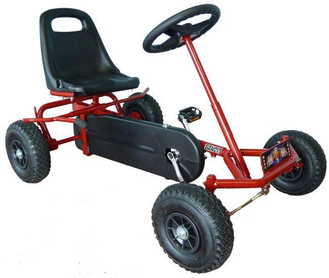 Prime Pedal Karts Bandit 4 Wheel Pedal Go Kart Bike Pedal Car Fun