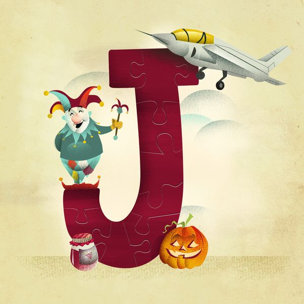 J is for... Art Print by Dave Mottram's Store | Society6