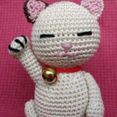Patrones Amigurumi: Maneki Neko (招き猫)