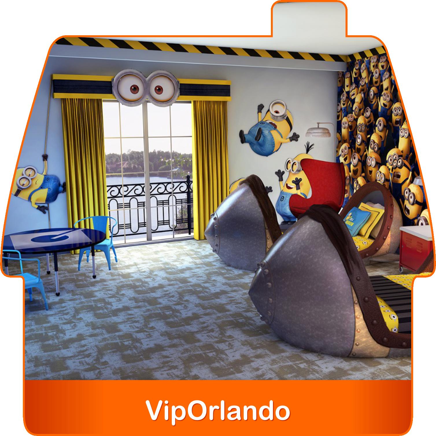 """Dale """"Me Gusta"""" si este es el cuarto que tus hijos merecen  #UniversalStudios #Orlando #Minions"""