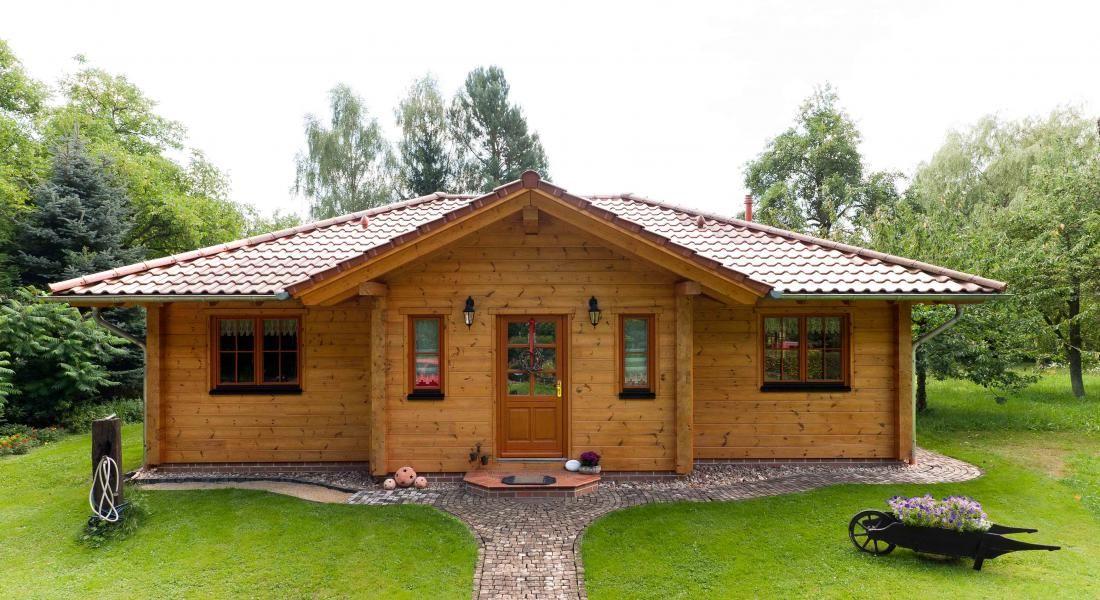Holzhaus Muskauer Heide Fullwood Wohnblockhaus (mit