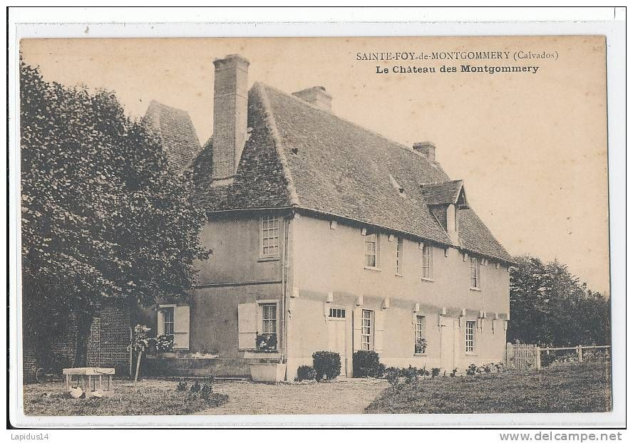 Montgommery chateau - Delcampe.net