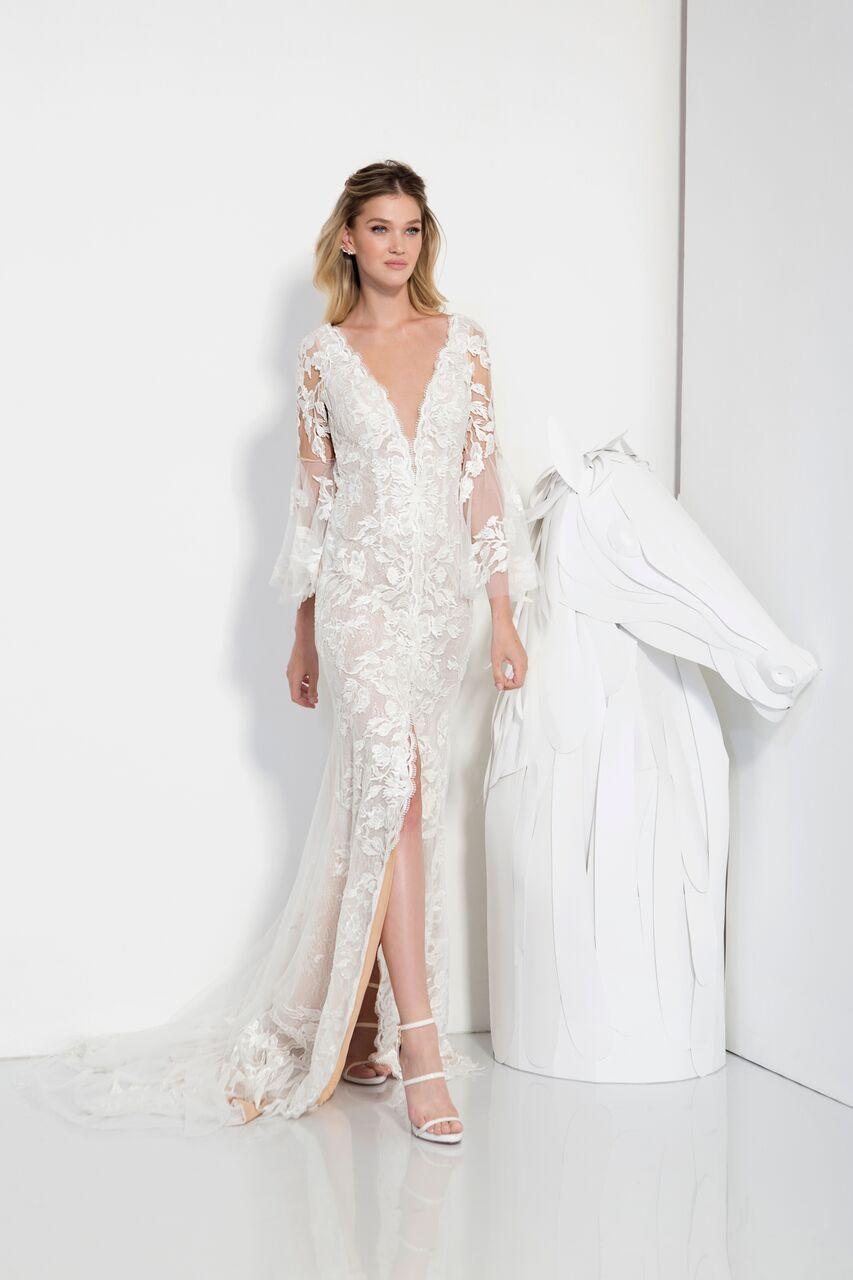 Boho bridal gown boho bohochic bridalgown romanticbride