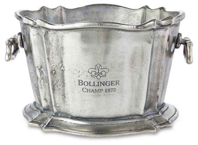 Bollinger Ice Bucket Silver 0 00 Wine Bucket Large Wine Coolers Wine Chiller
