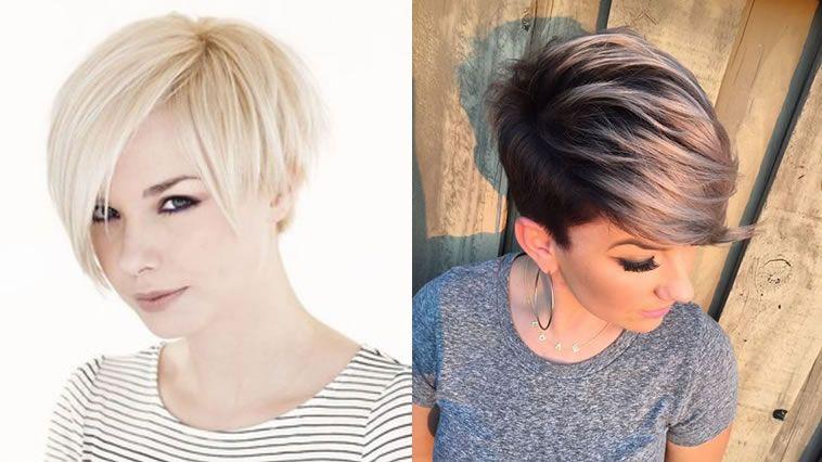 Cortes de cabello para cabello corto 2018