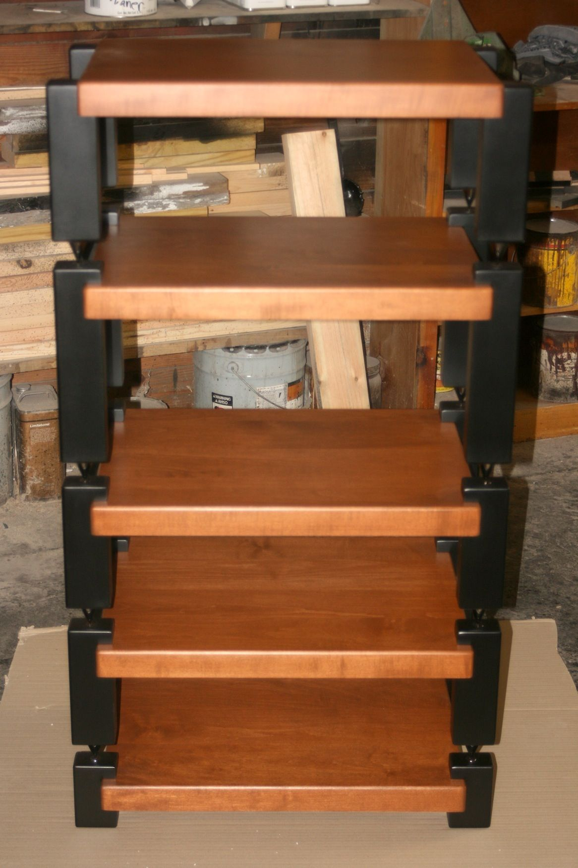 Www Timbernation Com Stereo Racks And Audio Stands Pinterest  # Hifi Furniture Wood High Quality