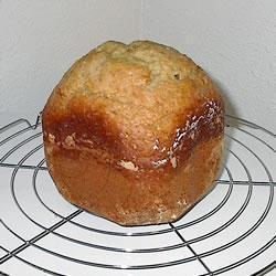 Bananenbrood uit de broodbakmachine @ https://allrecipes.nl