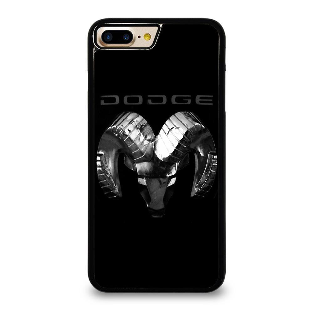 Dodge ram black logo iphone 7 8 plus case cover iphone