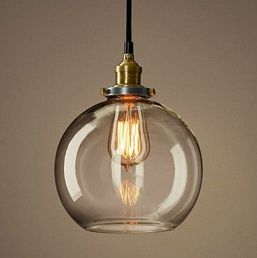 Loft copper cap glass ball pendant lighting contemporary pendant loft copper cap glass ball pendant lighting contemporary pendant lighting new york aloadofball Choice Image